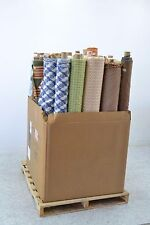 700 lbs of Custom Designer Fabric 50+ Rolls Material Bedding Upholstery Curtains