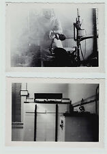 RARE- 2 Photos ID'd Dentist Interior Office Chair Equipment c 1930s Penn Yan NY