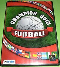 Champion Quiz Fußball (PC - Spiel)
