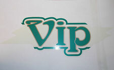 Coachman old style Vip name sticker graphic decal self adhesive PDC4A