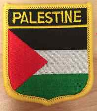 PALESTINE Shield Country Flag Embroidered PATCH Badge P1