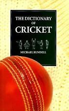 The Dictionary of Cricket-ExLibrary