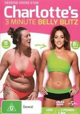 CHARLOTTE'S 3 Minute BELLY BLITZ DVD NEW RELEASE HEALTH WEIGHT LOSS FITNESS R4