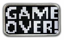 Patch - Game Over Heat Seal / Iron on Patch for jackets, shirts, tote bags, hats