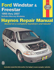 Ford Windstar & Freestar 1995 Thru 2007  : Includes Mercury Monterey by Max...