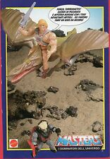 Pubblicità Advertising Werbung 1988 MATTEL Masters of The Universe - Turbodactyl