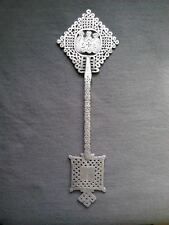 Beautiful Silver Ethiopian Orthodox Coptic Hand Cross I African