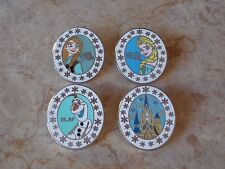 Pin Trading Disney Pins Lot of 4 As Pictured Frozen Set Elsa Anna Olaf Castle