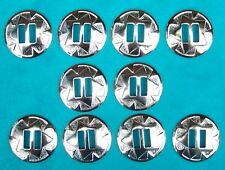 10 grandes 40 mm Salvaje Oeste Conchos Nativo Fancy Dress Elvis