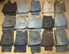 Wholesale Brand Name Womens Jeans LOT American Eagle Lucky Gap Levi's - 15 PAIRS
