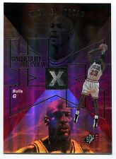 1997-98 SPx Hardcourt Holoview MICHAEL JORDAN Rare Non-Die Cut Blank Back Proof