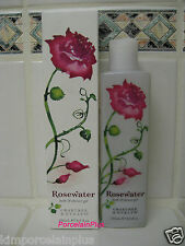 CRABTREE & EVELYN Rosewater Bath & Shower Gel Box 8.5 Fl Oz Free Ship
