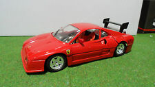 FERRARI GTO EVOLUZIONE rouge 1/18 JOUEF EVOLUTION voiture miniature d collection