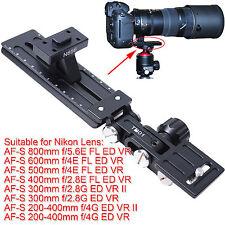 Montaggio pr Nikon AF-S 300mm f/2.8G ED VR II Treppiede Obiettivo Anello Attacco