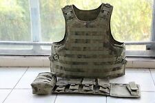 AU Combat Tactical Soft Bullet proof vest IIIA+2PCS III ceramic plates