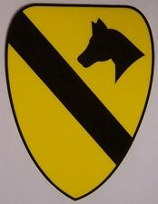Window Bumper Sticker Military Army 1st Cavalry Division NEW Decal
