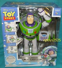 Disney Toy Story Ultimate Buzz Lightyear Progammable Robot New Interactive 16""