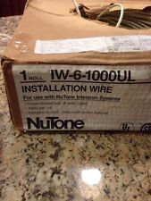20ft. of #22ga.  6 Conductor  Cable Wire  22 awg /6c(3three twisted pair)NUTONE