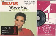 Elvis Presleys - Wooden Heart - Deleted UK Limited Numbered 3 track CD NEW