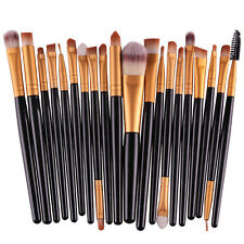 20pcs Pro Makeup Set Powder Foundation Eyeshadow Eyeliner Lip Cosmetic Brush NEW