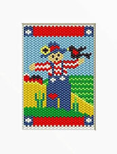 America'S Heartland Scarecrow Pony Bead Banner Pattern