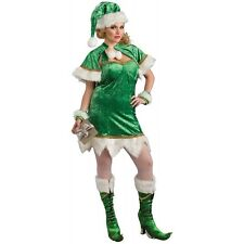 Holiday Helper Santa Claus' Elf Costume Christmas Fancy Dress