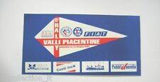 VECCHIO ADESIVO 2002 / Old Sticker 15° RALLY VALLY PIACENTINE (cm 16x8)