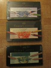 3 Sets Faber Castell  PITT Pastel --Albrecht Dürer W/Color- Polychromos Pencils
