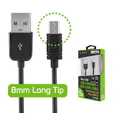 Cellet 8mm Tip Micro USB Charging & Data Sync Cable for Motorola Droid Maxx 2