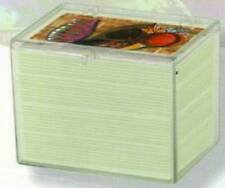 Ultra Pro 150 Count Hinged Clear Card Case [NEW] Ct Pc Protector Playing Trading