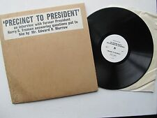 Precinct To President LP Interview with Harry Truman  TLO.54460-2 USA + Photo