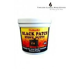 BLACK PATCH - STOVE PUTTY - Combustion wood stoves/ heaters BBQ's - 400g
