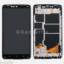 US Motorola Droid Turbo XT1254 XT1225 LCD Display Touch Screen Digitizer + Frame