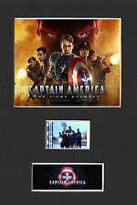 CAPTAIN AMERICA THE FIRST AVENGER 35mm 6X4 MOUNTED FILM MOVIE CELL GREAT GIFT