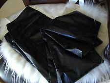 100% Authentic Chanel Loose Leather Pants Size 8 $6410