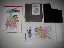 Final Fantasy VII 7 NES Nintendo CIB Manual Box Game RPG