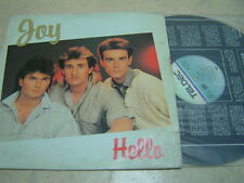 "JOY hello 1986(KOREA VINYL LP 12"")8TRACK 33RPM euro dance/DISCO/teldec"