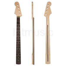 Left Handed Electric Bass Guitar Neck for Fender Precision Bass Maple Rosewood
