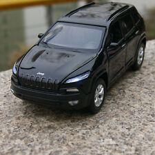 Jeep 2014 Grand Cherokee 1:32 SUV Alloy Diecast Model Cars Sound & Light Black