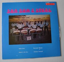 SEA SUN & STEEL LP Record Calypso Steeldrum Band Air Canada 67