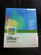 Microsoft Office XP / 2002 Developer, Retail, Englisch mit MwSt Rechnung