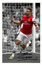 OLIVIER GIROUD - ARSENAL AUTOGRAPHED SIGNED A4 PP POSTER PHOTO