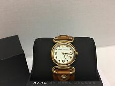 New Marc By Marc Jacobs Women's Brown MBM8521 MSRP $200.00 Watch
