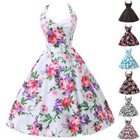 Grace Karin WOMENS NEW RETRO 50'S STYLE SWING PIN UP PARTY VINTAGE FLORAL DRESS