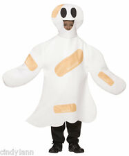BOO BOO GHOST BANDAID HALLOWEEN COSTUME FUNNY CHILD 4 - 6X