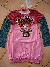 (817) Nolita Pocket Girls Materialmix Kleid mit Logo & Mädchen Aufnäher gr.116