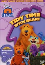 Bear In the Big Blue House: Tidy Time With Bear! (2004, REGION 1 DVD New)