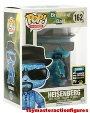 FUNKO POP 2015 SUMMER CONV BREAKING BAD BLUE CRYSTAL HEISENBERG #162 In Stock
