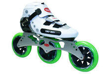 TruRev 3 wheel  Inline Speed Skate complete package. Size 4 to12
