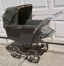 H N Thayer Toy Doll Baby Buggy Travel Car Nursery Bed Bassinet Carriage Stroller